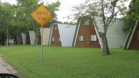 Εξοχικά σπίτια σε νέο Braunfels Τέξας στοκ εικόνα