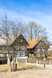 Εξοχικά σπίτια στην περιοχή Kokorin Στοκ Εικόνες
