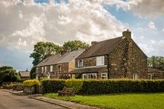 Εξοχικά σπίτια του Derbyshire Στοκ φωτογραφία με δικαίωμα ελεύθερης χρήσης