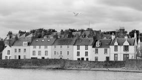 Εξοχικά σπίτια Anstruther Στοκ εικόνα με δικαίωμα ελεύθερης χρήσης