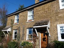 Εξοχικά σπίτια Meadstone, κατώτατο σημείο Chorleywood, Chorleywood στοκ εικόνες