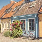 Εξοχικά σπίτια Ystad Στοκ εικόνες με δικαίωμα ελεύθερης χρήσης