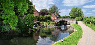 Εξοχικό σπίτι κλειδαριών Sandiacre, Nottinghamshire, Ηνωμένο Βασίλειο Στοκ φωτογραφία με δικαίωμα ελεύθερης χρήσης