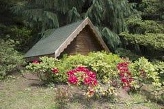 εξοχικό σπίτι μικρό Στοκ Φωτογραφία