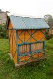 Εξοχικό σπίτι μπαμπού Στοκ Φωτογραφίες