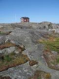 εξοχικό σπίτι μόνο Στοκ Εικόνα