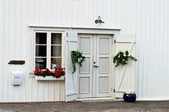 εξοχικό σπίτι παλαιό Στοκ Φωτογραφία