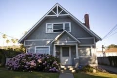 Εξοχικό σπίτι παραλιών Καλιφόρνιας Στοκ εικόνα με δικαίωμα ελεύθερης χρήσης