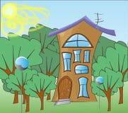 Εξοχικό σπίτι παραμυθιού στοκ εικόνες