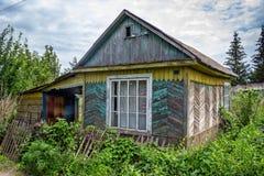 εξοχικό σπίτι παλαιό Στοκ Φωτογραφίες