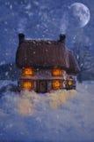 εξοχικό σπίτι περίεργο Στοκ εικόνες με δικαίωμα ελεύθερης χρήσης