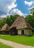 εξοχικό σπίτι ρουμάνικα στοκ φωτογραφία