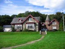 εξοχικό σπίτι σκωτσέζικα Στοκ φωτογραφία με δικαίωμα ελεύθερης χρήσης