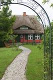 Εξοχικό σπίτι στη Γερμανία Στοκ φωτογραφίες με δικαίωμα ελεύθερης χρήσης