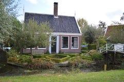 Εξοχικό σπίτι στο Άμστερνταμ στοκ φωτογραφία