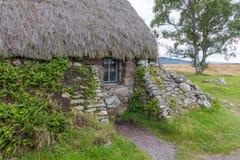 Εξοχικό σπίτι στο πεδίο μάχη Culloden Στοκ Εικόνες