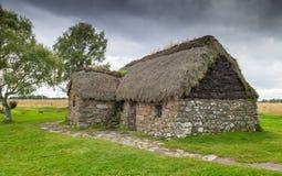 Εξοχικό σπίτι στο πεδίο μάχη Culloden Στοκ φωτογραφίες με δικαίωμα ελεύθερης χρήσης