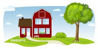 εξοχικό σπίτι συμπαθητικό Στοκ εικόνες με δικαίωμα ελεύθερης χρήσης