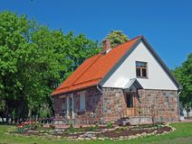 εξοχικό σπίτι σύγχρονο Στοκ εικόνες με δικαίωμα ελεύθερης χρήσης