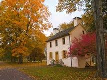 εξοχικό σπίτι φθινοπώρου Στοκ Εικόνα