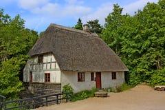Εξοχικό σπίτι χωρών Thatched Στοκ εικόνες με δικαίωμα ελεύθερης χρήσης