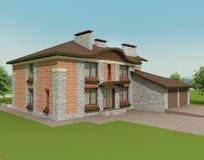 εξοχικό σπίτι 2 στοκ εικόνες