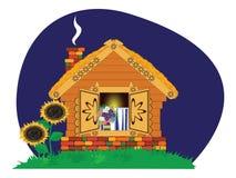 εξοχικό σπίτι homely ελεύθερη απεικόνιση δικαιώματος