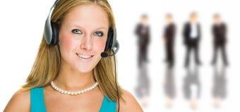 εξυπηρέτηση πελατών Στοκ εικόνα με δικαίωμα ελεύθερης χρήσης