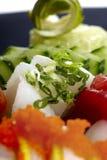 εξυπηρετούμενα πιάτο σού&s Στοκ εικόνα με δικαίωμα ελεύθερης χρήσης