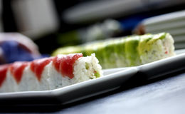 εξυπηρετούμενα πιάτο σού&s Στοκ φωτογραφία με δικαίωμα ελεύθερης χρήσης