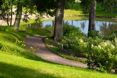 Εξωραϊσμένο μεθύστακας πάρκο Στοκ Φωτογραφία