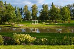 Εξωραϊσμένο μεθύστακας πάρκο Στοκ Εικόνα