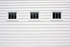 εξωτερικά αγροτικά τρία Windows Στοκ φωτογραφίες με δικαίωμα ελεύθερης χρήσης