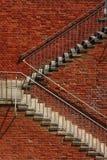 Εξωτερικά βήματα Στοκ φωτογραφία με δικαίωμα ελεύθερης χρήσης
