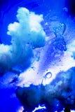 Εξωτερικά διαστημικός-όπως αφηρημένα έλαιο και νερό Στοκ Εικόνα
