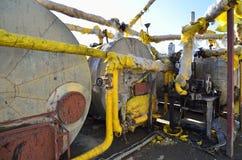 Παλαιά δεξαμενή βενζίνης Στοκ Εικόνα