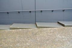 Εξωτερικά σκάλα και κιγκλίδωμα Στοκ εικόνα με δικαίωμα ελεύθερης χρήσης