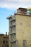 εξωτερικά σκαλοπάτια Στοκ φωτογραφία με δικαίωμα ελεύθερης χρήσης