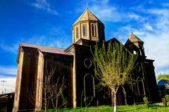Εξωτερική άποψη στην ιερή εκκλησία σημαδιών aka Surp Nshan σε Gyumri, επαρχία Shirak, Αρμενία στοκ φωτογραφίες με δικαίωμα ελεύθερης χρήσης