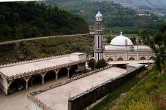 Εξωτερική άποψη στο μουσουλμανικό τέμενος Ισλάμ Darul Uloom Ishaatul, Khyber Pakhtunkhwa, Πακιστάν στοκ εικόνες