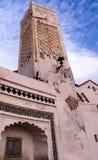 Εξωτερική άποψη στο μουσουλμανικό τέμενος του κυρίου Ramadan, Casbah του Αλγερι'ου, Αλγερία Στοκ Εικόνα
