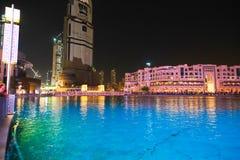 Εξωτερική άποψη της λεωφόρου του Ντουμπάι Στοκ φωτογραφίες με δικαίωμα ελεύθερης χρήσης