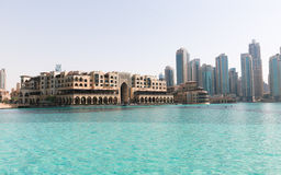 Εξωτερική άποψη της λεωφόρου του Ντουμπάι Στοκ εικόνα με δικαίωμα ελεύθερης χρήσης