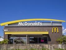 Εξωτερική άποψη του διάσημου Mcdonald στοκ φωτογραφίες με δικαίωμα ελεύθερης χρήσης