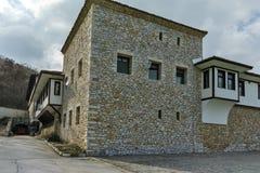 Εξωτερική άποψη του μοναστηριού ST Kirik και Julita, Αζένοβγκραντ, Βουλγαρία Gornovodenski Στοκ φωτογραφία με δικαίωμα ελεύθερης χρήσης