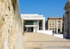 Εξωτερική άποψη του μουσείου Ara Pacis Augustae στη Ρώμη Στοκ φωτογραφία με δικαίωμα ελεύθερης χρήσης