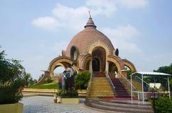 Εξωτερική άποψη του ναού Ganapati, Kolhapur, Maharashtra στοκ εικόνες