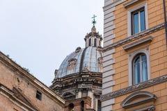 """Εξωτερική άποψη della Valle Chiesa Sant του """"Andrea στη Ρώμη, Ιταλία στοκ φωτογραφία"""