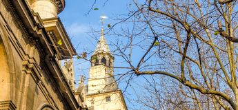Εξωτερική άποψη Palais de Justice στο Παρίσι - τη Γαλλία Στοκ φωτογραφίες με δικαίωμα ελεύθερης χρήσης