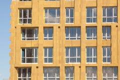 Εξωτερική μόνωση τοίχων Στερεά μόνωση τοίχων Ανακαίνιση τοίχων σπιτιών ενεργειακής αποδοτικότητας για την ενέργεια - αποταμίευση Στοκ Φωτογραφία